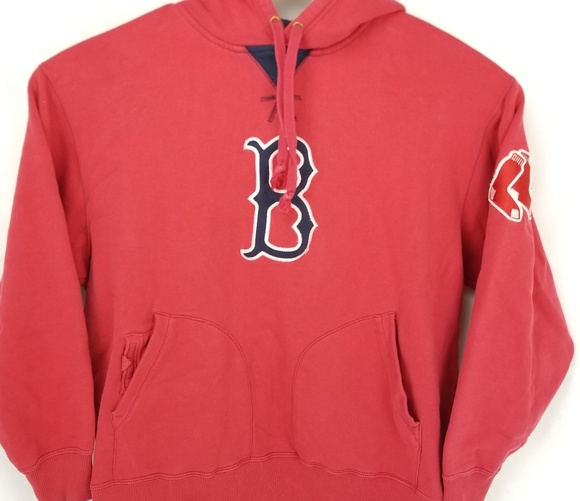 the latest 74168 7f66a Boston Red Sox Mens Size Large Gree Pullover